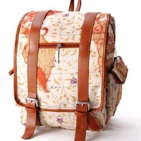 Unisex Casual Canvas Rucksacks Backpack for School/ Sports/ Travelling