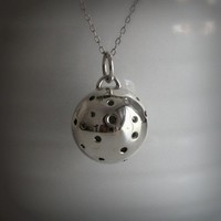 The Meteorite Necklace by TheAngryWeather on Etsy