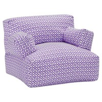 Purple Petal Dot Eco Lounger