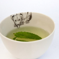Sale Tea Cup Catcup Lion seconds