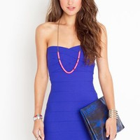 Electric Blue Bound Sweetly Dress
