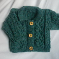 Rowan Bobble Jacket for baby or toddler PDF knitting pattern