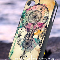 Water color dream cather - iPhone 4/4s/5 Case - Samsung Galaxy S2/S3/S4 Case - Blackberry Z10 Case - Ipod 4/5 Case - Black or White
