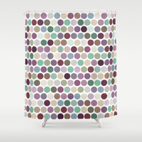 dotty 2 Shower Curtain by musings