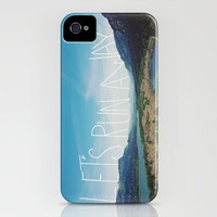 Let's Run Away VIII iPhone Case by Leah Flores | Society6