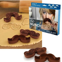 Munstaches  - Mustache Shaped Cookie Cutters