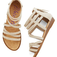 Couldn't Be Better Sandal in Sand | Mod Retro Vintage Sandals | ModCloth.com