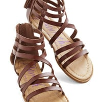 Couldn't Be Better Sandal in Cocoa | Mod Retro Vintage Sandals | ModCloth.com