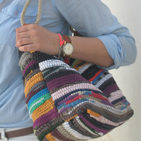 Bohemian Shoulder Kilim Bag