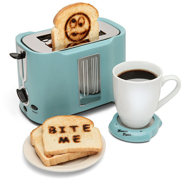 ThinkGeek :: Pop Art Toaster