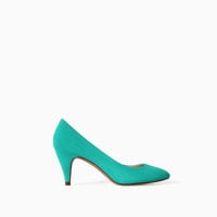 MEDIUM HEEL COURT SHOE