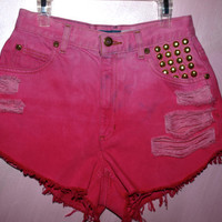 Studded/Destroyed Pink Ombre Liz Claiborne Vintage by Azita001