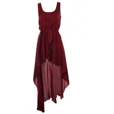Chiffon Swallowtail Red Street Dress,FREE SHIPPING at www.reecn.com