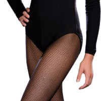 Teen Black Leotard - Teen Costumes