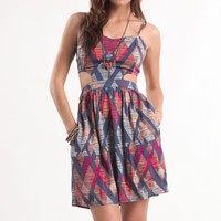 Kirra Cutaway Back Bustier Dress - PacSun.com