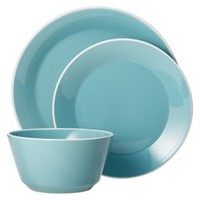 Room Essentials™ 12 Piece Dinnerware Set - Sunbleached Turquoise