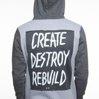 Glamour Kills Clothing - Guys Breaking Chains Zip Up Hoodie
