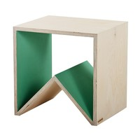 Side Table - Green