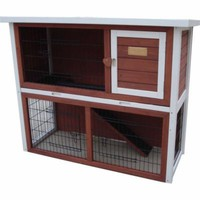 Advantek™ The Loft Rabbit Hutch, Auburn - Tractor Supply Co.