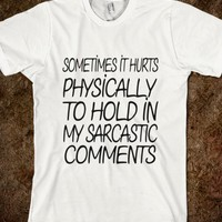 Sarcastic Comments