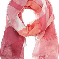 Burberry | Checked cotton scarf | NET-A-PORTER.COM