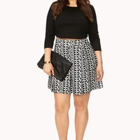 Enchanted Velveteen Skater Skirt