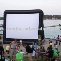 Large Outdoor Inflatable Movie Screen - Buy Inflatable Movie Screen,Advertising Inflatable Screen,Pop Up Screen Product on Alibaba.com