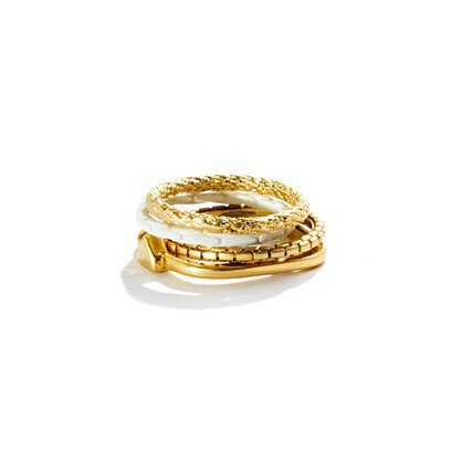 Shortstack Ring Set - rings - Women&#x27;s JEWELRY - Madewell