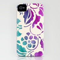 Watercolor Floral iPhone Case by Jacqueline Maldonado | Society6