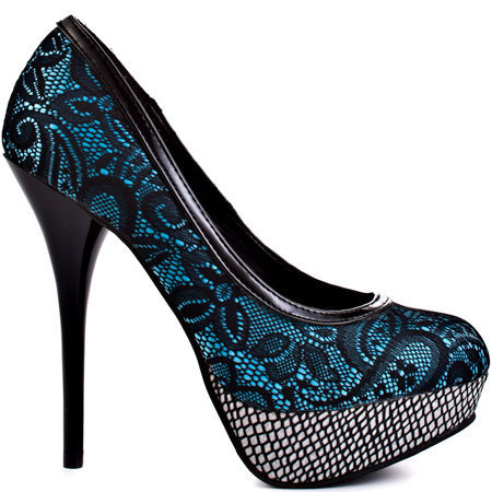 Promise's Multi-Color Savy - Blue for 49.99 direct from heels.com