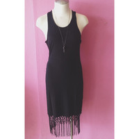 Asil Fringe Dress