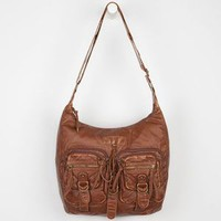 T-Shirt & Jeans Two Pocket Sling Bag Cognac One Size For Women 22907640901