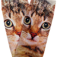 The Brown Cat Socks