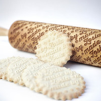 Personalized rolling pin - Made by...pattern