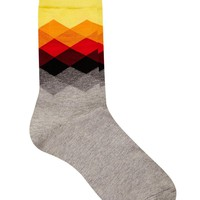 Happy Socks Faded Diamond Socks