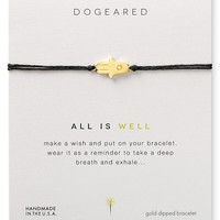 Dogeared All is Well Linen Bracelet