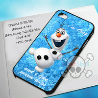 Olaf Warm Hug For iPhone 4/4s,iPhone 5/5s/5c,Samsung Galaxy S2/S3/S4,iPod 4,iPod 5,Htc One Case