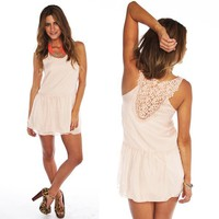 Furor Moda - So Sweet Crochet Dress