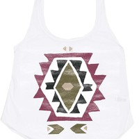 NATIVES WAIT FOR ME TANK TOP