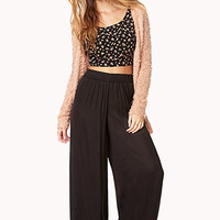 Luxe Satin Wide Leg Pants