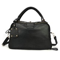 Black Tote Purse Handbag Crossbody Carryall Shoulder Bag