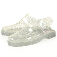 HUEY Jelly Gladiator Sandals - Topshop