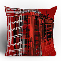 DENY Designs Home Accessories | Aimee St Hill Phone Box Throw Pillow