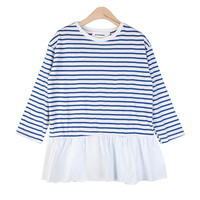 Frilly Striped T-Shirt