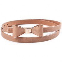 The Khaki Bowknot Belt - 29 N Under