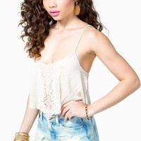 Grace Crochet Trim Cami