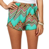 Pre-OrderMint Green Printed Shorts