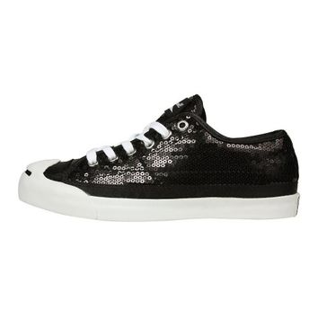 Converse JP LTT OX Sneakers Shoes Silver Womens