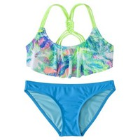 Xhilaration® Junior's Mix & Match Hanky 2-Piece Swimsuit