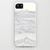 Waves iPhone & iPod Case by Johanne Karlsrud